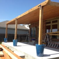 Cedar Beam Back Porch