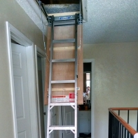 Attic Access Stairs