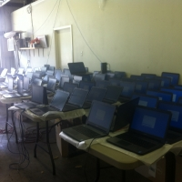Cloning laptops (500 at a time) for AISD